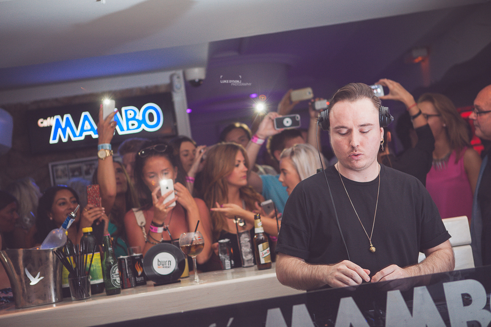 Cafe Mambo - Duke Dumont - Pete Tong - 30th June 2014 - Luke Dyson Photography Blog