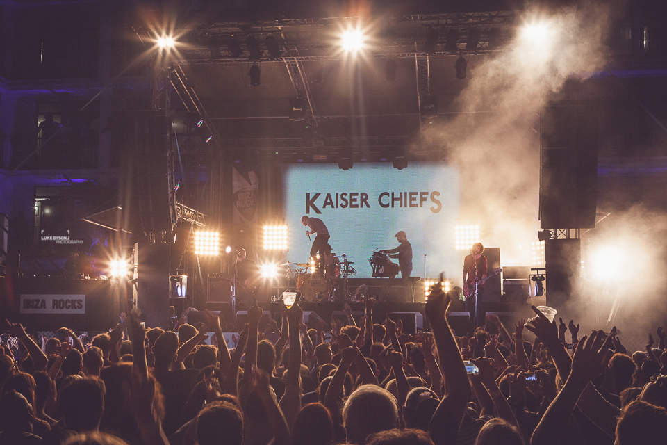 Ibiza Rocks - Kaiser Chiefs - 3rd September 2014 - Luke Dyson Photography - Blog