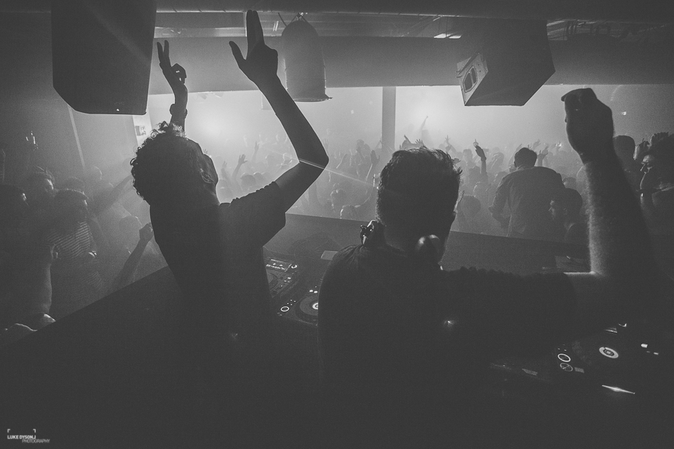 XOYO - All You Can Eats - Eats Everything B2B Artwork - 15th February 2014 - Luke Dyson Photography - Blog